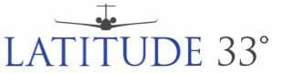 Latitude 33 Aviation Logo