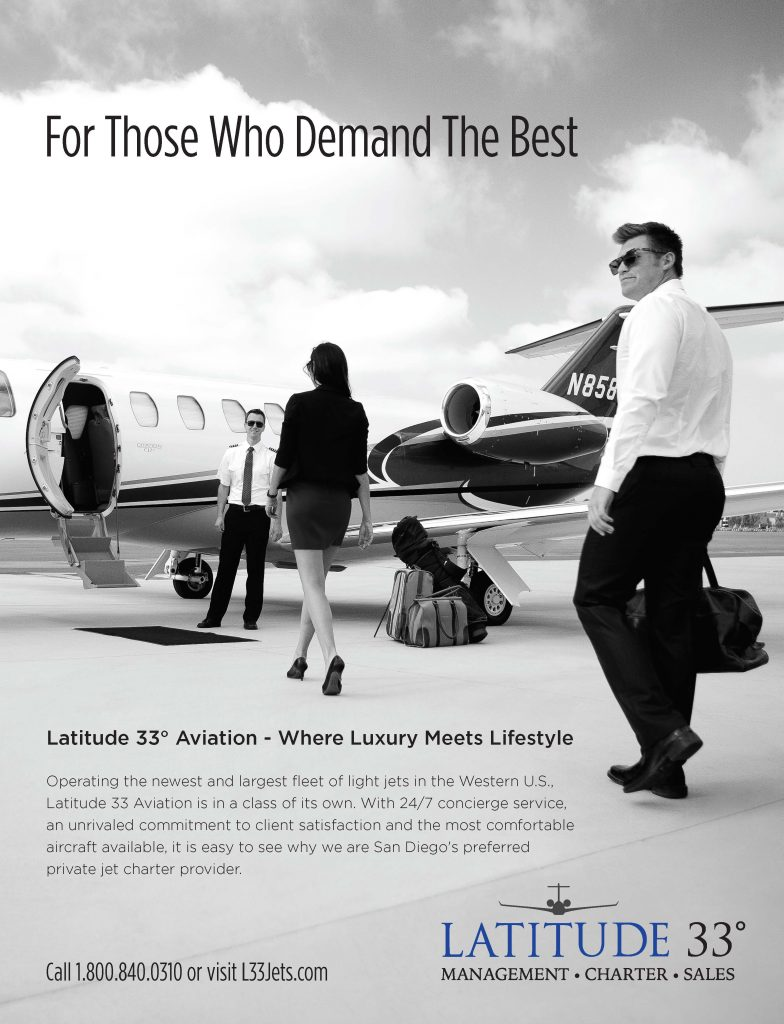 Latitude 33 Best of San Diego Rear Cover Ad