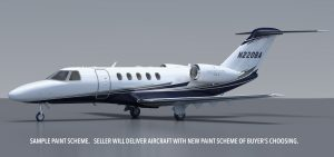 Rendering of N220BA New Paint