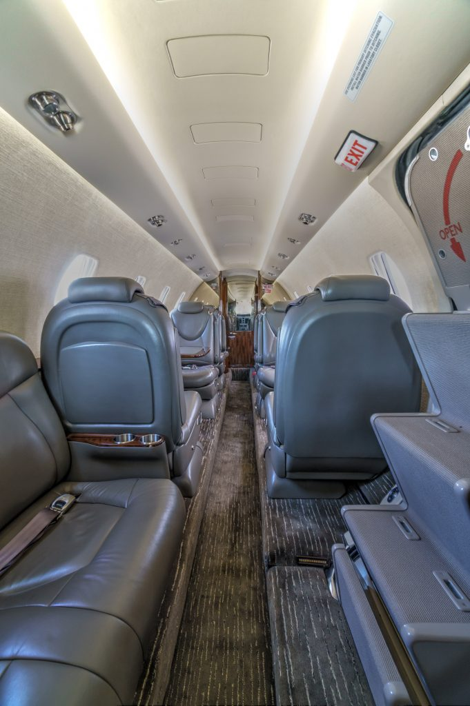 Private Jet Charter N1985H Seat