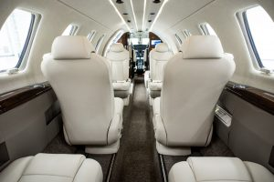 Citation CJ4 Business Jet Interior