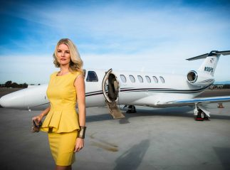 Chartering a Jet in Los Angeles