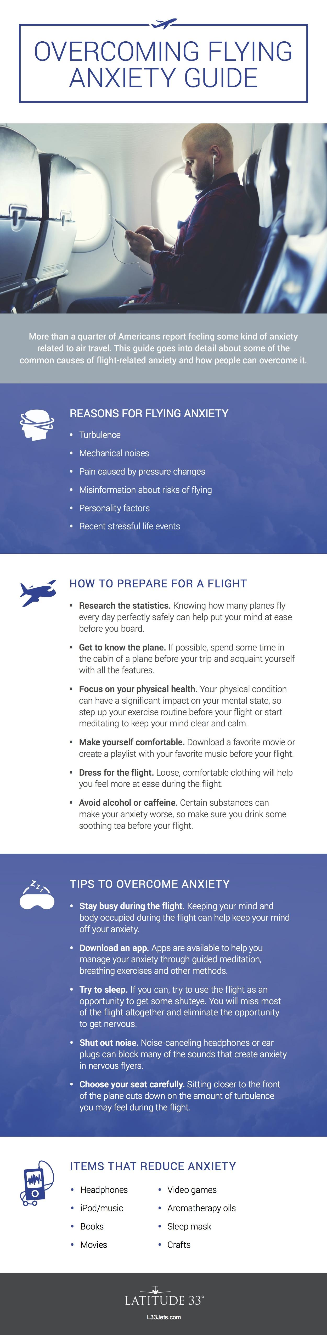 Overcoming Flying Anxiety Guide - Latitude 33 Aviation