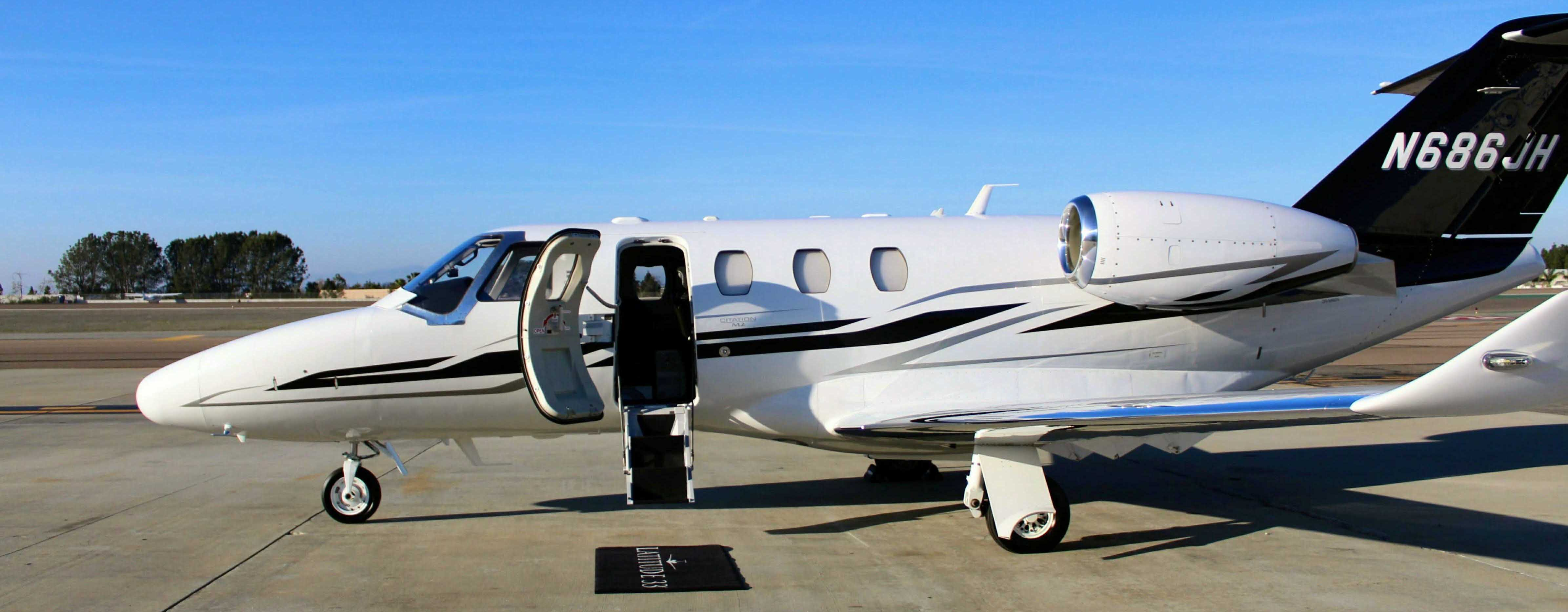 Beautiful Citation M2 Available for Private Jet Charter N686JH