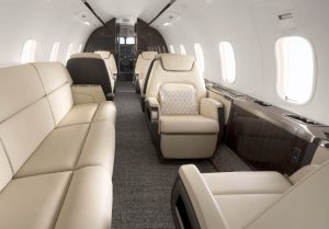Challenger 350 Private Jet Interior