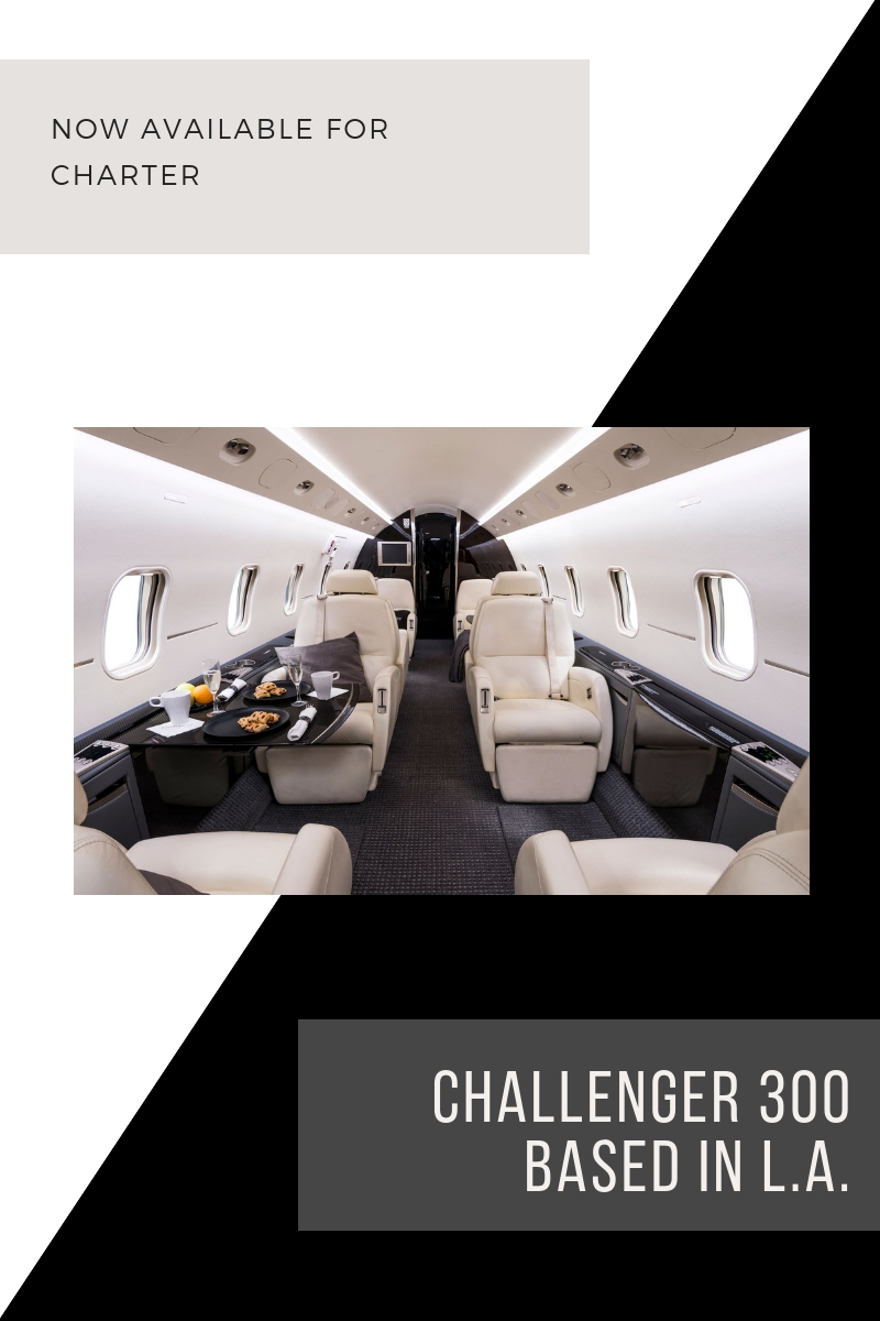 Bombardier Challenger Available for Charter