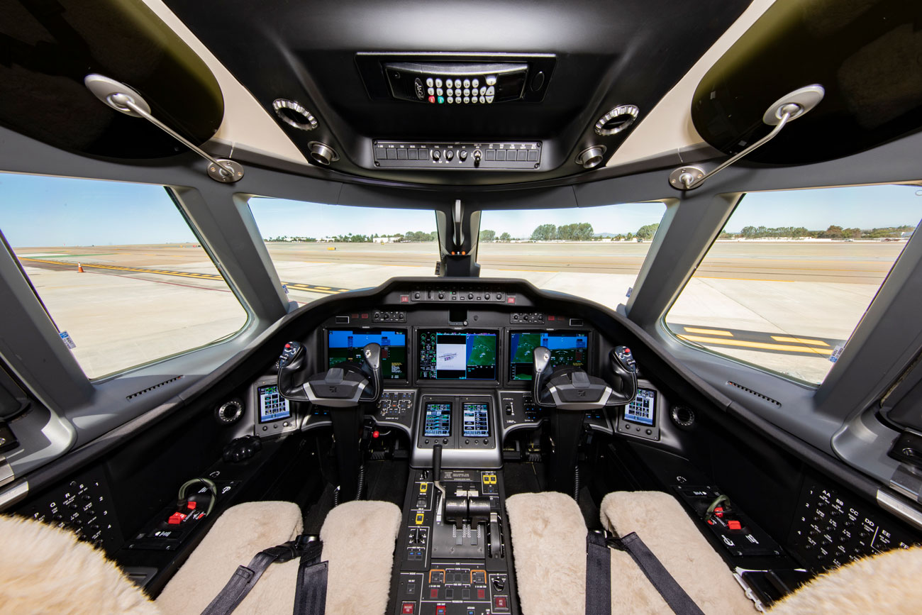 Citation Sovereign Cockpit