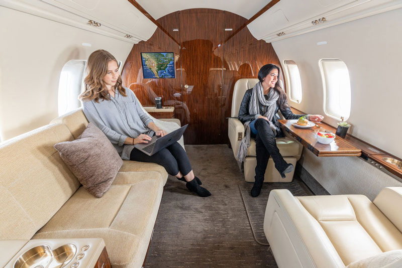 Latitude 33 Aviation's Air Charter Service