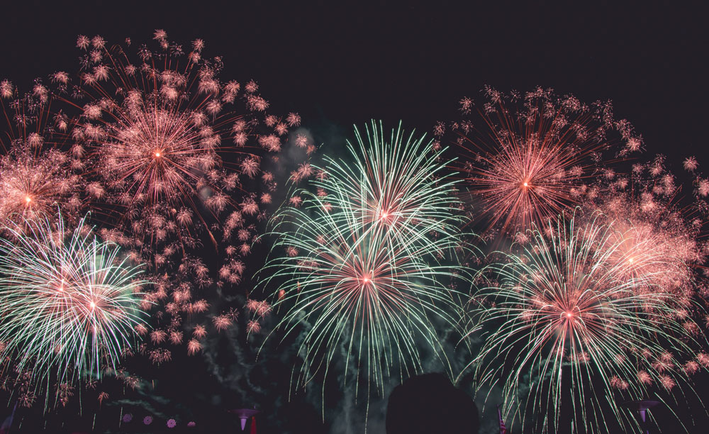 Things to do in California for Fourth of July - Fireworks