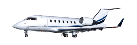 Private jet to Hawaii in a Challenger 605