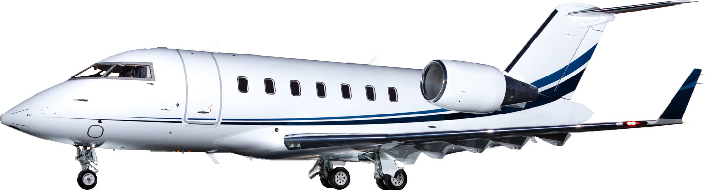 Bombardier Challenger 605 for Charter Exterior Heavy Private Jet