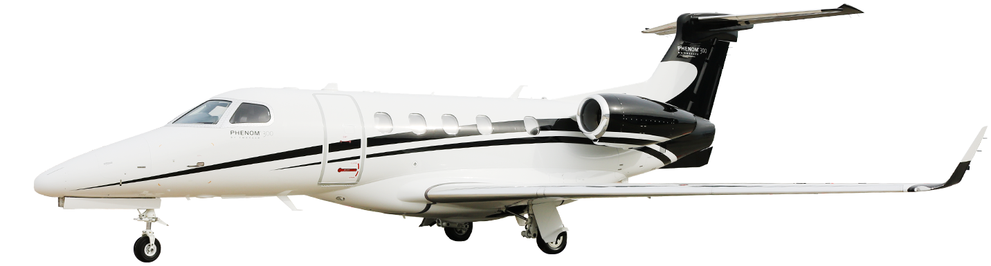 Embraer Phenom 300 For Charter Aircraft Type Exterior