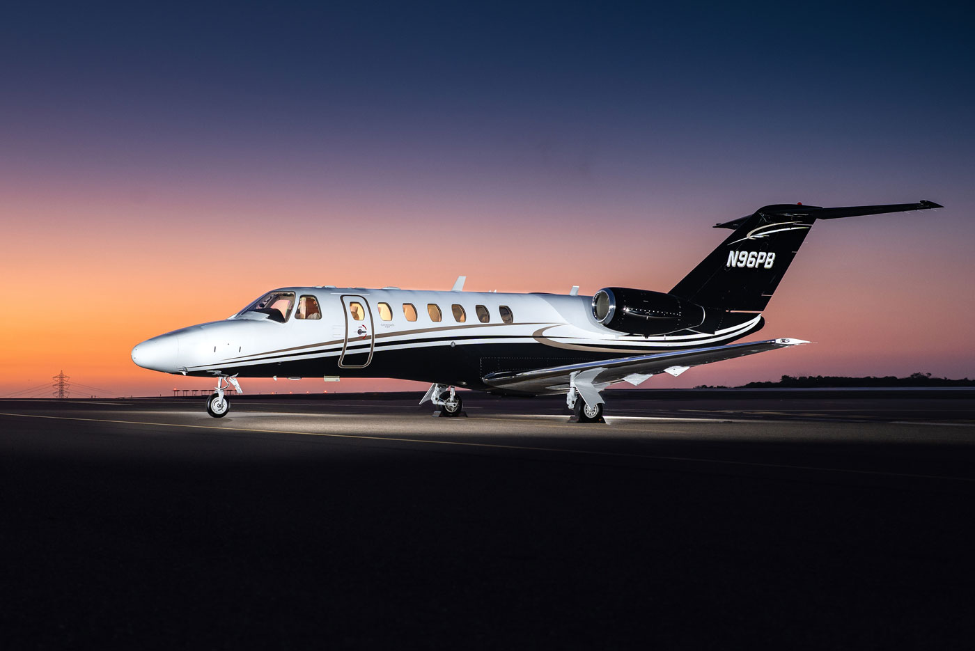 Latitude 33 Aviation 2006 Cessna Citation CJ3 Aircraft For Sale Exterior