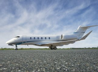 Latitude 33 Aviation factory acceptance two Challenger 350s
