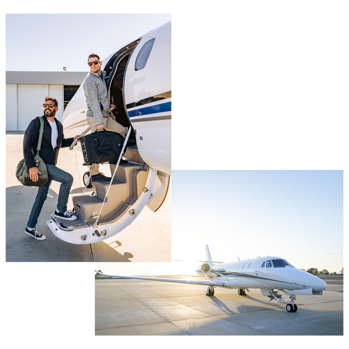 Request a Quote with Latitude 33 Aviation and board an aircraft for a private flight