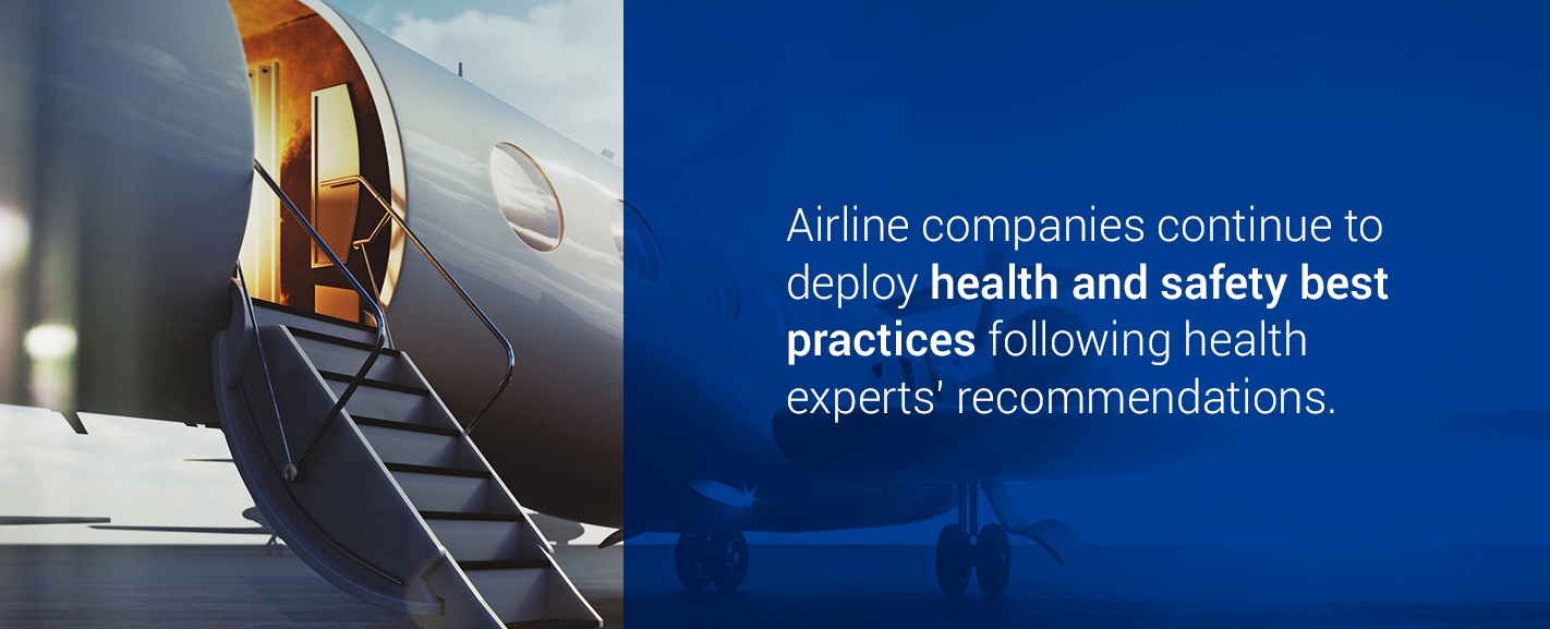 airline health and safety best practices
