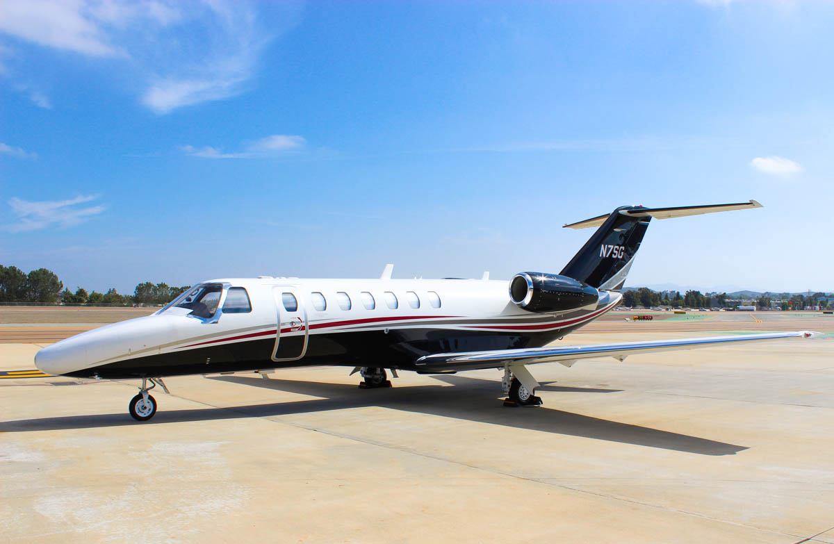 Latitude 33 Aviation 2008 Cessna Citation CJ3 Aircraft Available for Co-Ownership Exterior