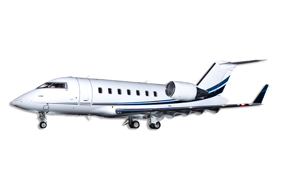 Bombardier Challenger 605 Heavy Large Jet Aircraft Category