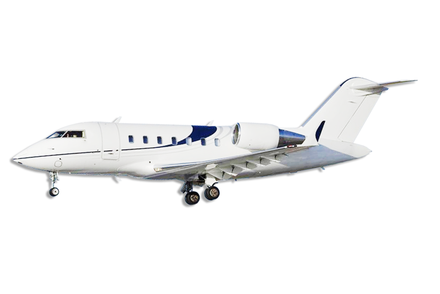 Bombardier Challenger 650 Large Heavy Jet Aircraft Category