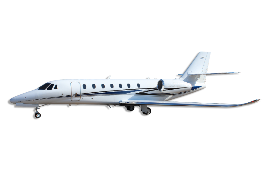 Cessna Citation Sovereign+ Super Midsize Jet Aircraft Category