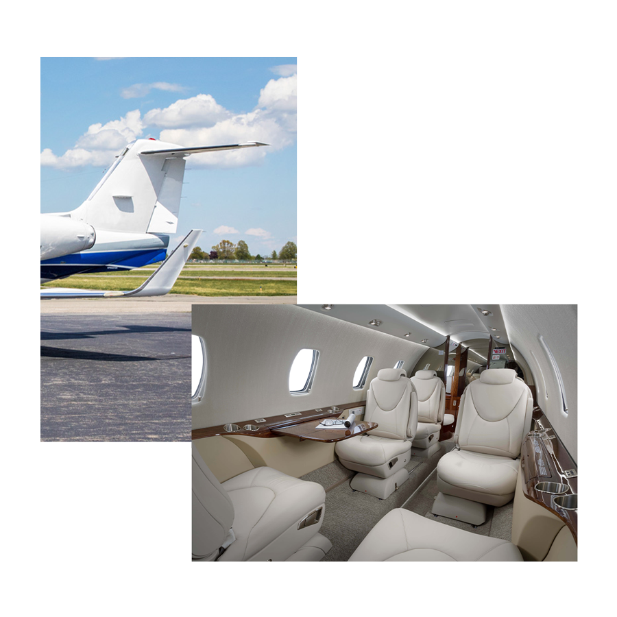 Latitude 33 Aviation Midsize Private Jet Category