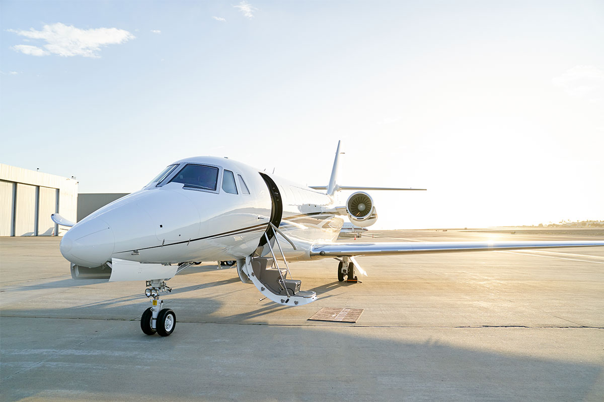 Cessna Citation Sovereign+ for Charter Exterior