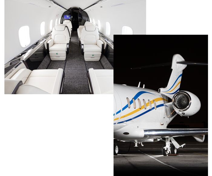 Latitude 33 Aviation Private Jet Acquisition Services Interior and Exterior Challenger 350