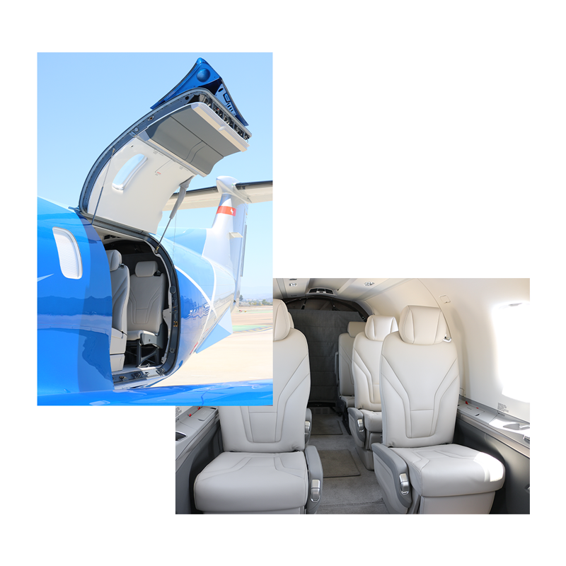 turboprop interior and exterior with latitude 33 aviation