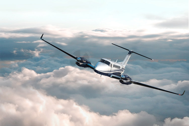 Beechcraft King Air 360 Turboprop Private Aircraft Exterior