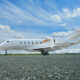 Latitude 33 Aviation's Bombardier Challenger 350 for Charter in Carlsbad Exterior