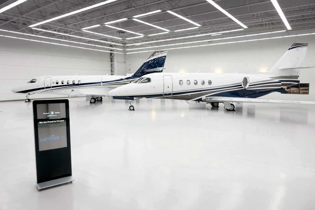 Private Aircraft Sales Factory Acceptance of Two 2018 Cessna Citation Latitudes