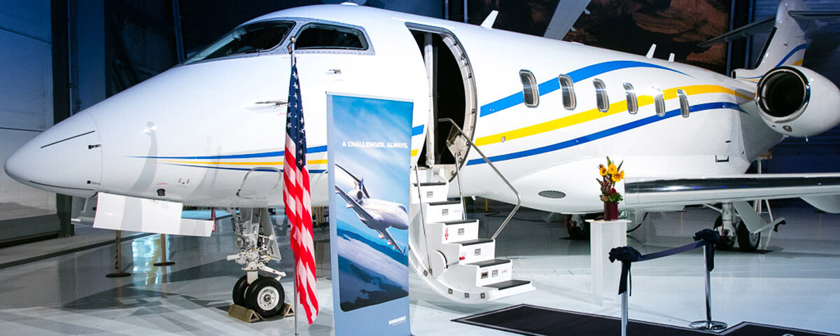 Private Aircraft Sales Factory Acceptance of 2018 Bombardier Challenger 350