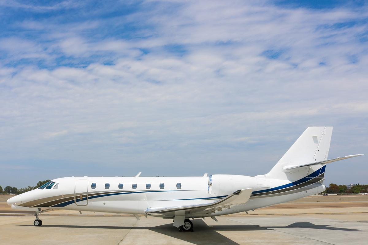 Latitude 33 Aviation Charter Fleet Addition 2015 Cessna Citation Sovereign+ Exterior
