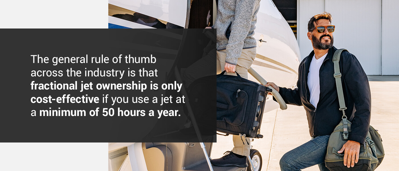 When Is Fractional Jet Ownership Right for You?