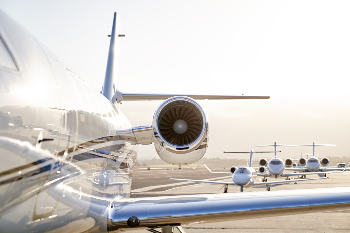 Latitude 33 Aviation Celebrates 15-Year Anniversary with aircraft lined up on ramp